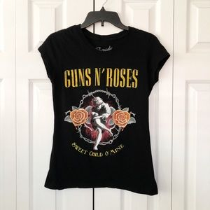 BRAVADO Guns N' Roses Sweet Child O Mine Top L